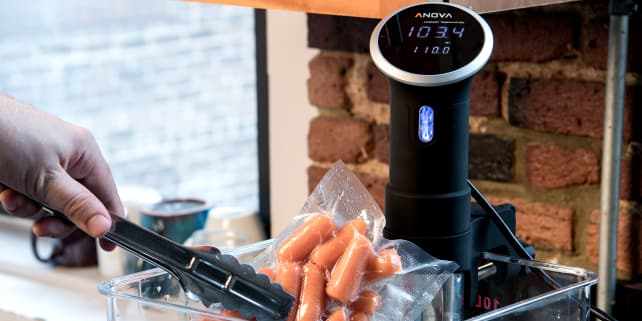 Best Immersion Circulator: Anova Bluetooth Precision Cooker (800 watts)