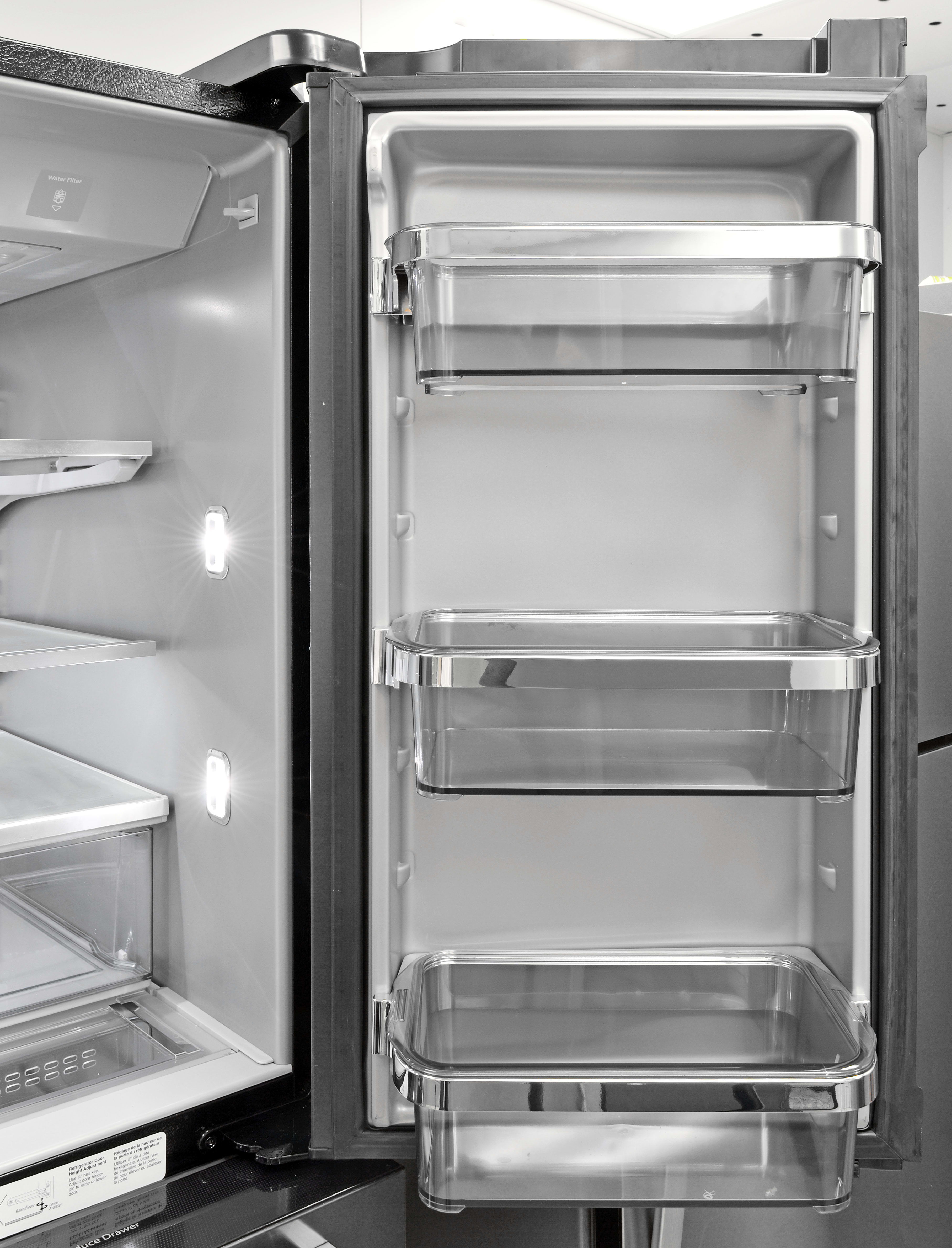 side with kitchen and dispenser aid ft water refrigeration by cu exterior refrigerator kitchenaid ice x