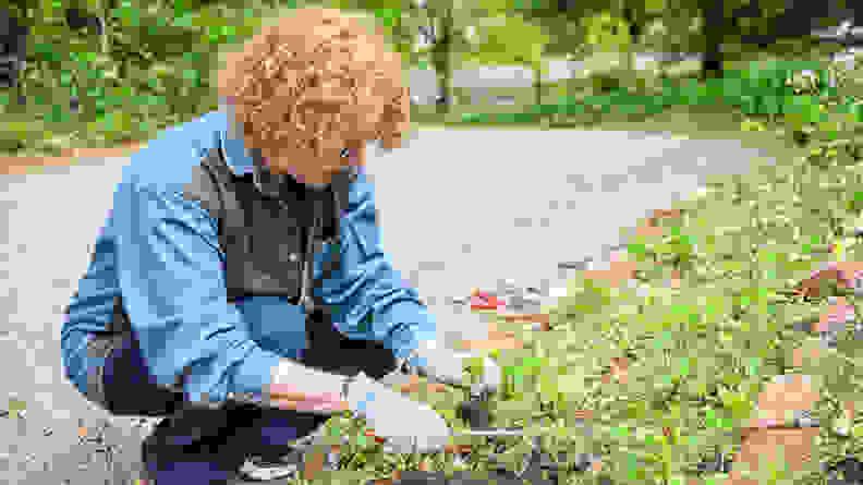 garden gloves testing