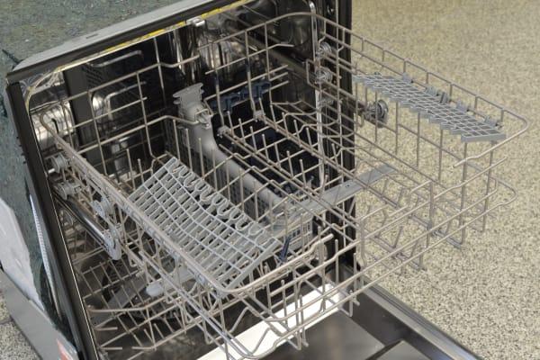 top rack of dishwasher