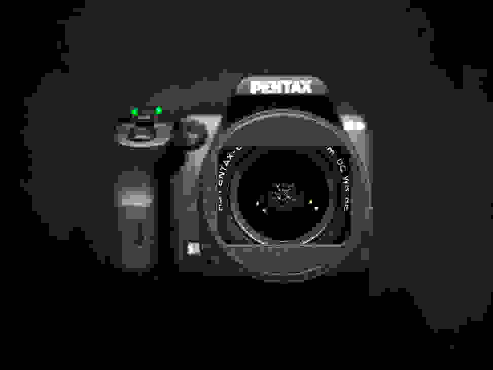 Pentax DA-L 18–50mm f/4–5.6 DC WR RE Kit Lens