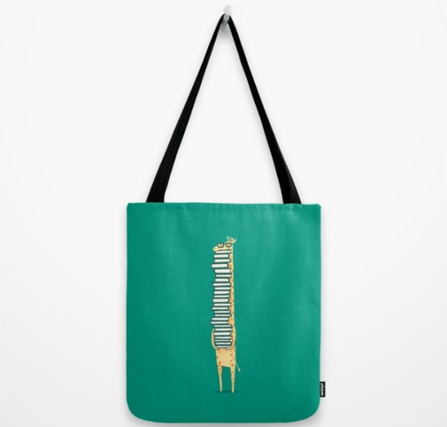A Book Lover totebag