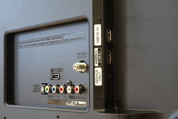 LG 39LB5600 ports