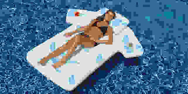 Hawaiian Shirt Pool Float