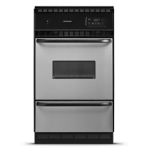 Frigidaire fgb24s5ab 24 inch single gas wall oven