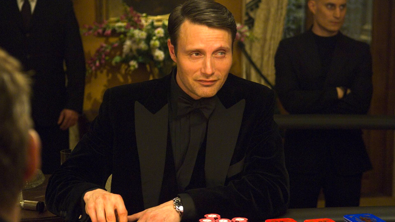 In 'Casino Royale,' Mads Mikkelsen plays the sinister Le Chiffre.