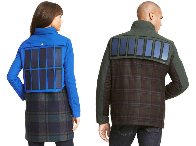 Tommy Hilfiger's solar panel jacket