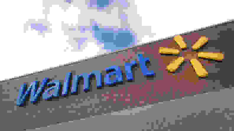 Walmart exterior