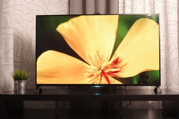 Sony's 2014 XBR-49X850B 4K LCD is one flashy-looking machine.
