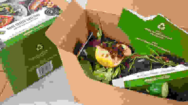 Amazon Meal Kit - Trash
