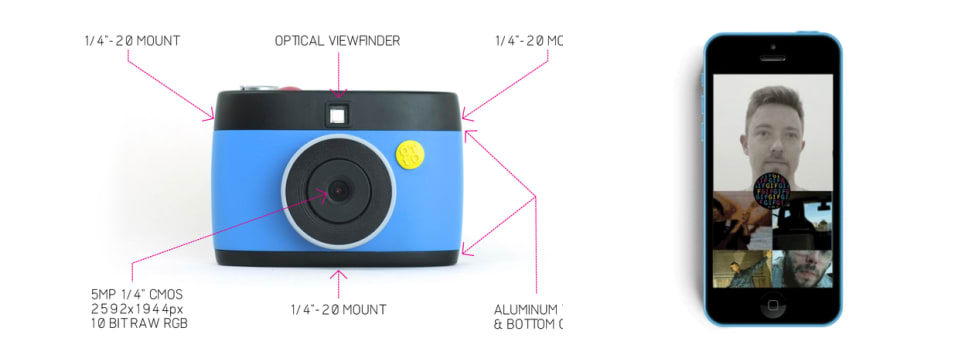 The Otto is a new Rasberri Pi-powered camera being Kickstarted with the ability to quickly and easily create crank-powered GIFs.