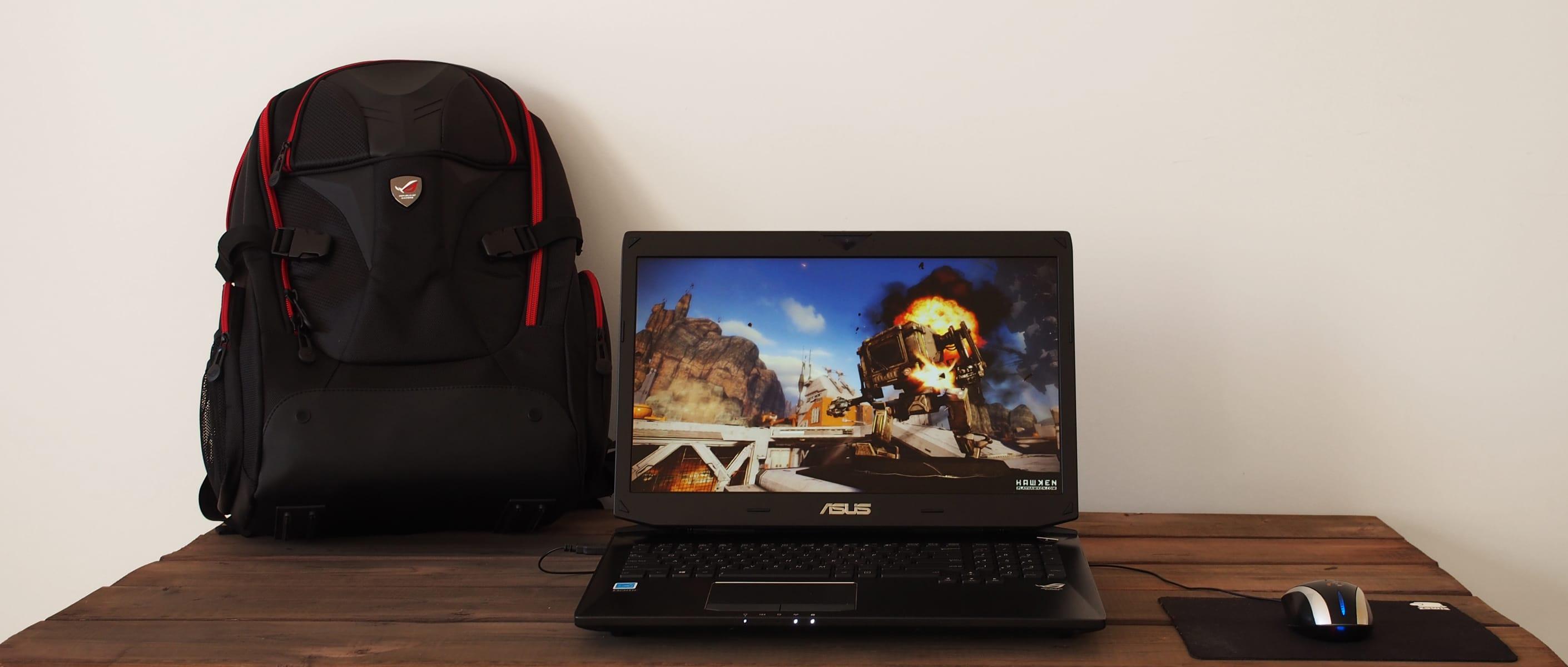 The Asus ROG G750JZ-XS72 Gaming Laptop
