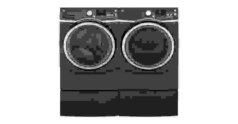 GE GFW450SPKDG-washer-and-companion-dryer