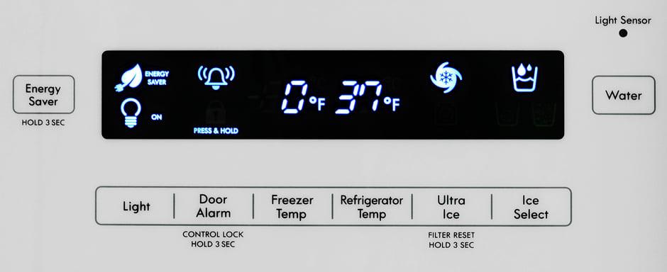 Kenmore 71052 Controls