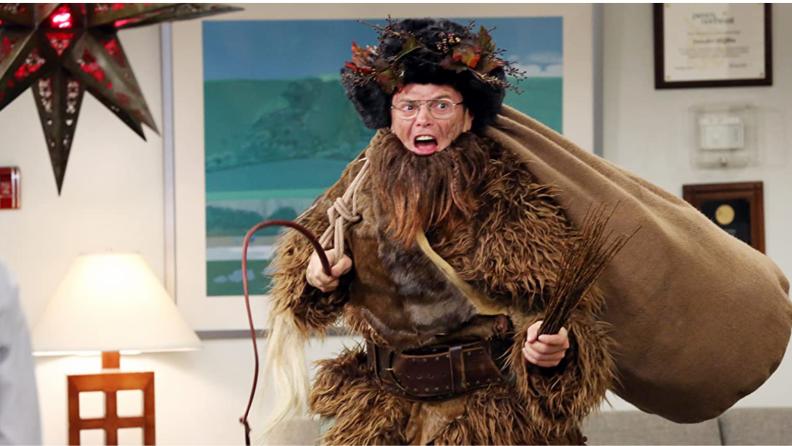 A still from The Office featuring Dwight Schrute (Rainn Wilson)