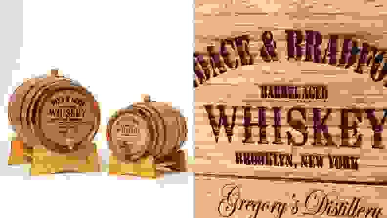 Custom Whiskey Barrel