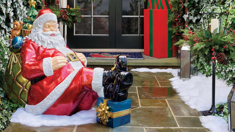 Shhh! Don't wake Santa, unless you want to end up on the naughty list.