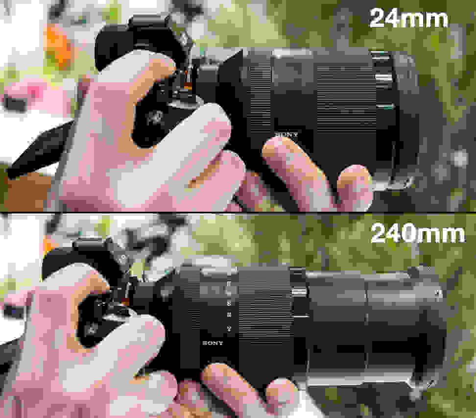 Sony 24–240mm – Wide & Telephoto