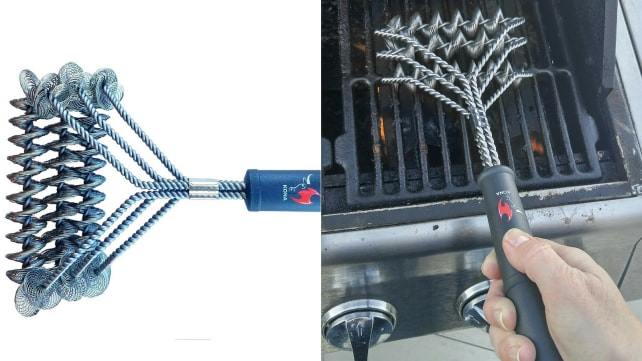 Kona Bristle Free Barbecue Grill Brush