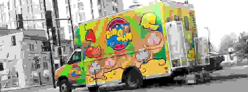 A Dim Sum food truck.