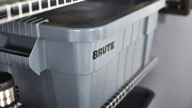 Brute plastic bin