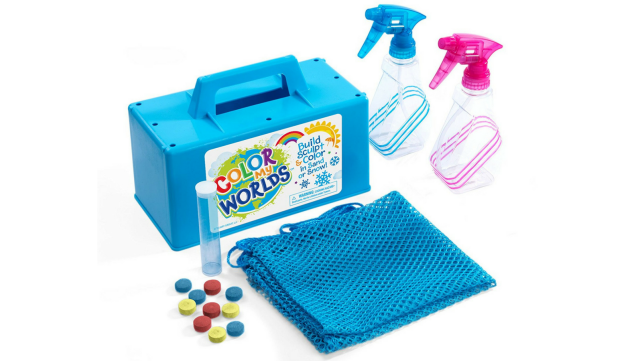 Snow coloring kit