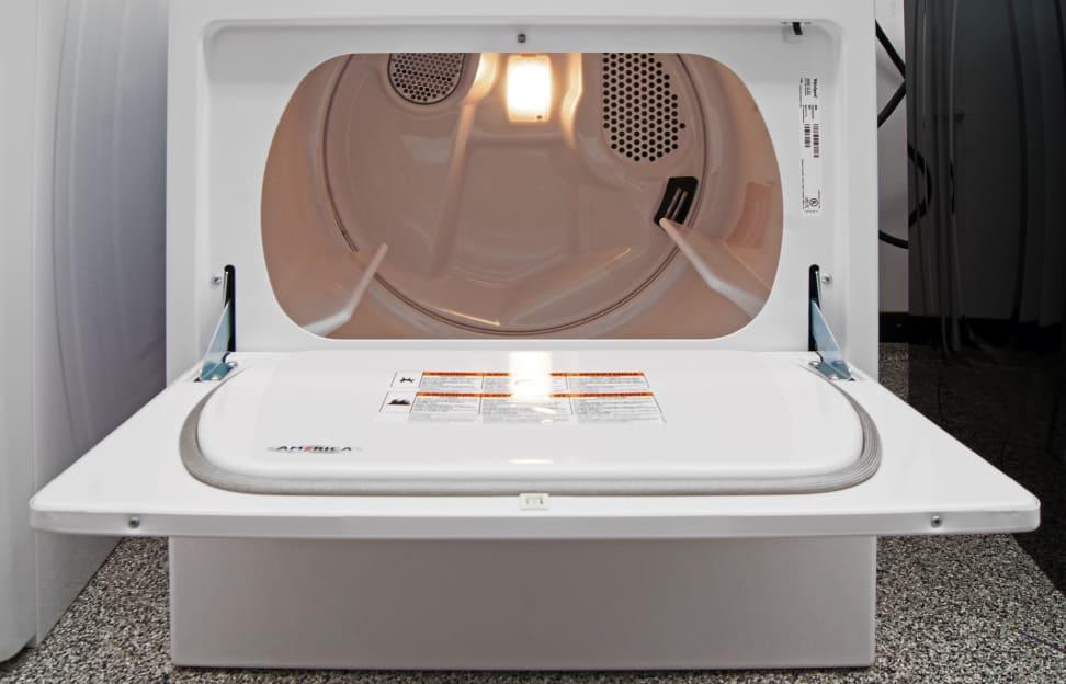 Whirlpool WED4915EW Interior