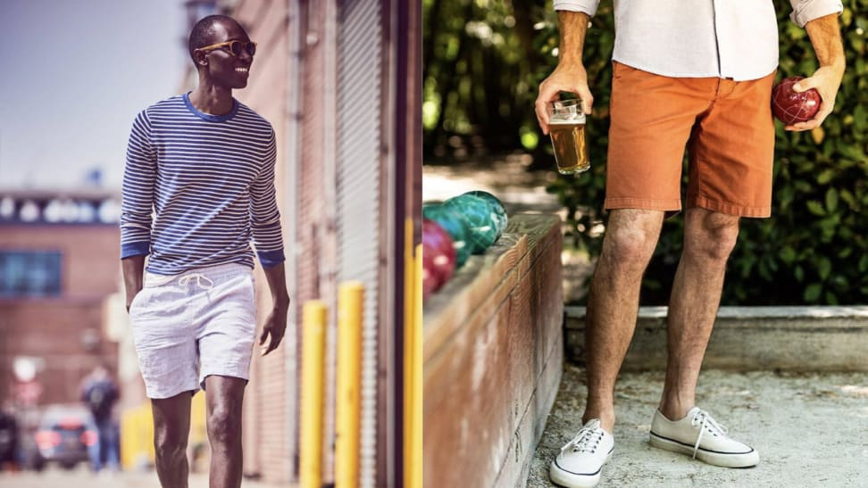 J.Crew and Flint and Tinder shorts for men