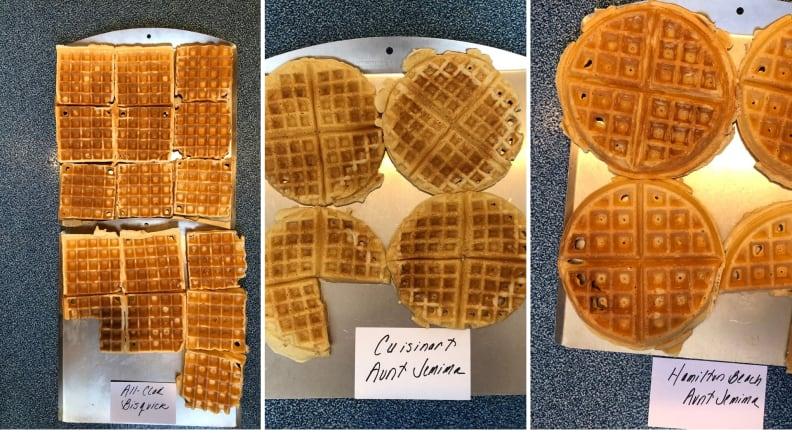 Testing waffles