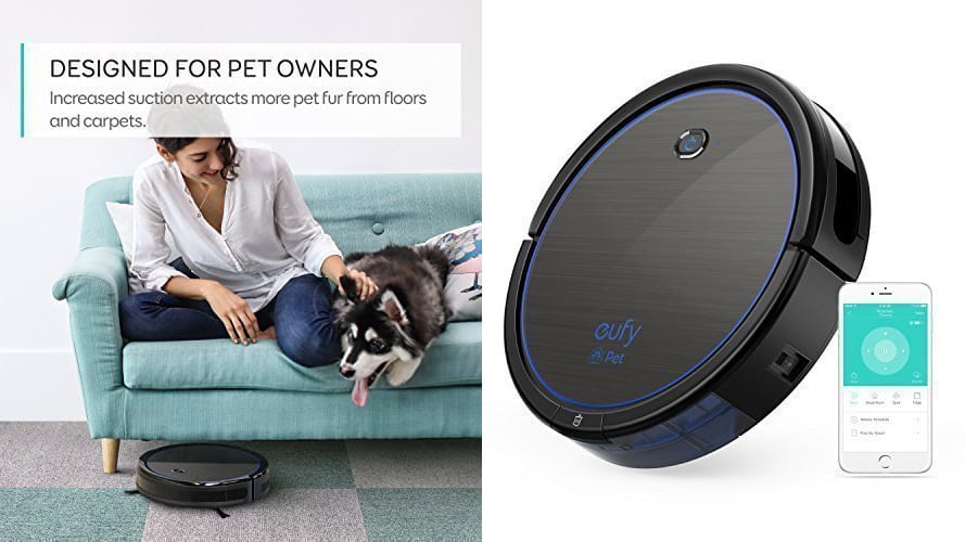 Pick up all your pet hair with a discounted robot vacuum