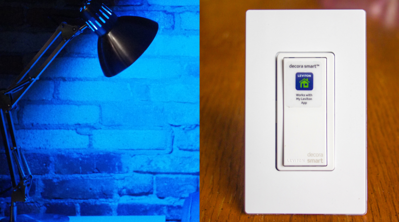 Philips Hue White and Color Ambiance Starter Kit (Gen 3) and Leviton Decora Smart Switch (WiFi)