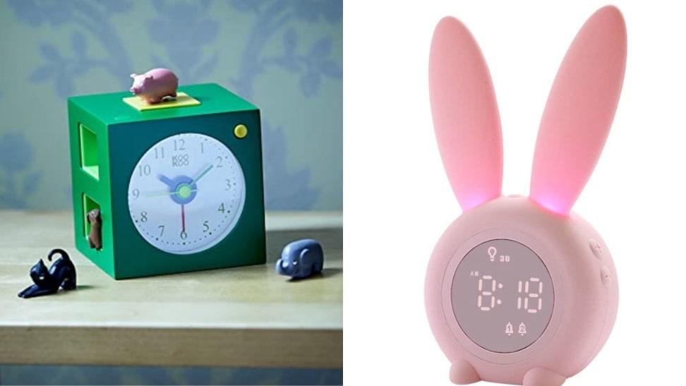Kids' alarm clocks