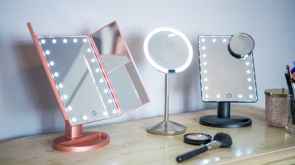 best lighted makeup mirror The Best Lighted Makeup Mirrors of 2018   Reviewed best lighted makeup mirror