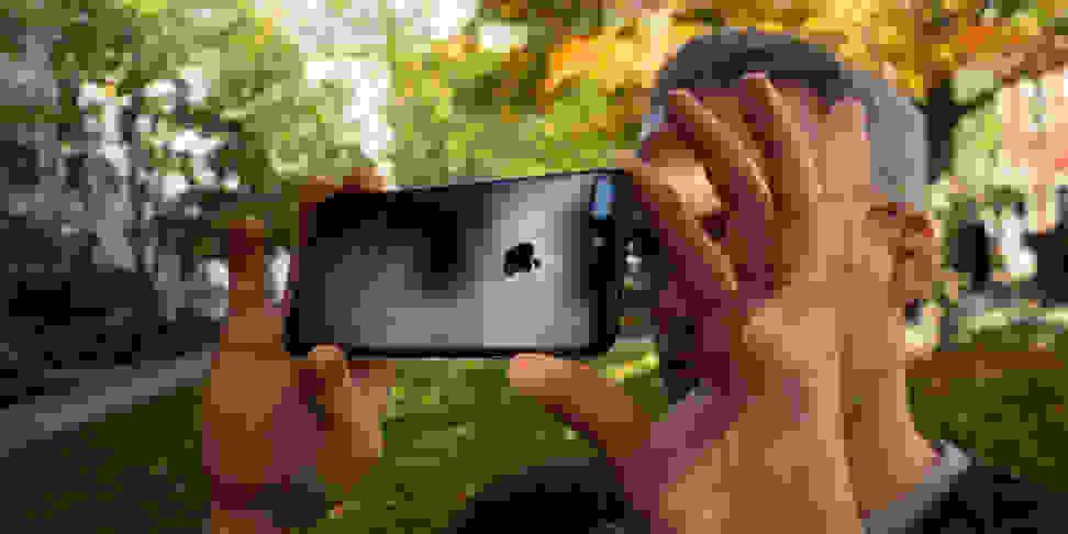 Apple iPhone 7 Plus Camera In Use
