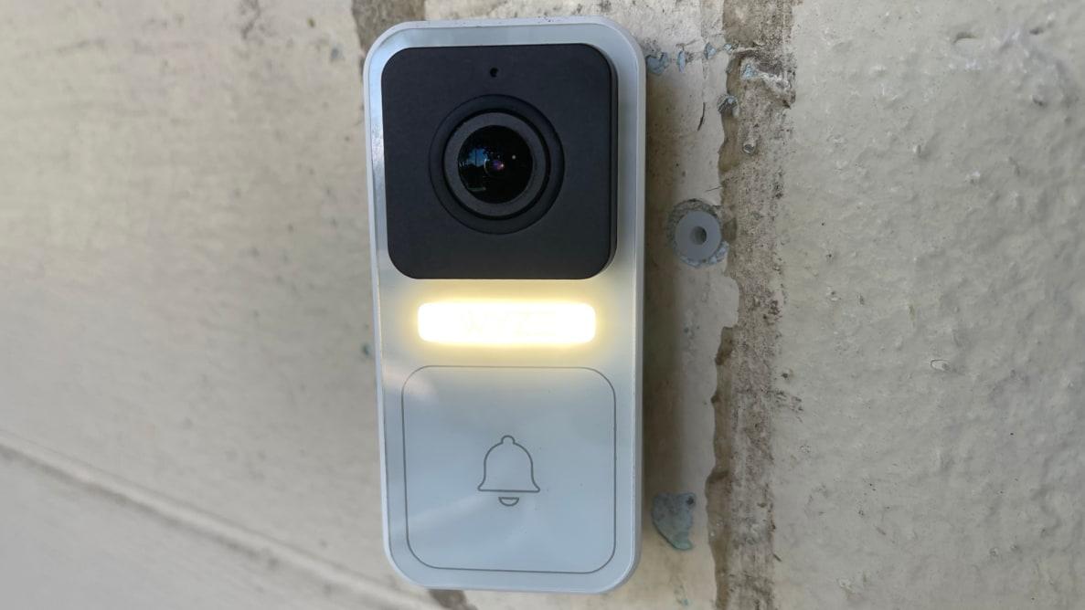 The Wyze Video Doorbell.
