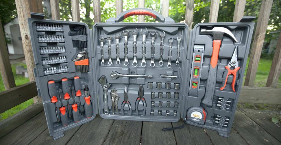 HDX Mechanics Tool Set