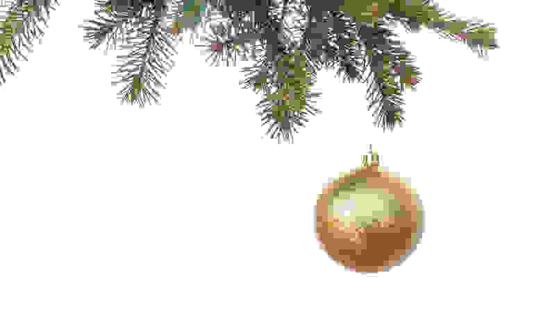 Ornaments don't need to be pricey to bring Christmas cheer.