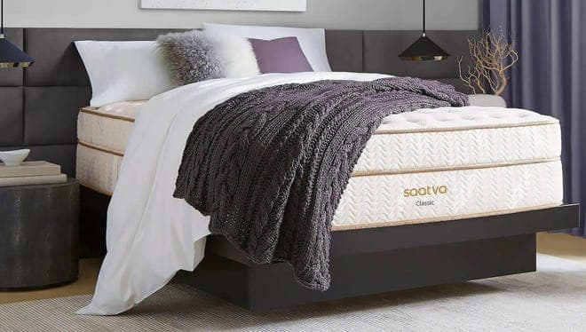 Save up to $200 off on a Saatva mattress now