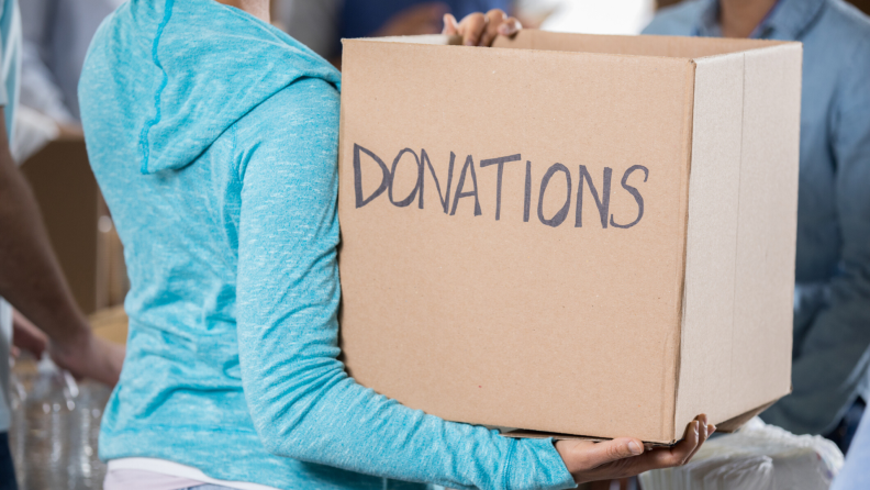 when your tool shed is full, donate some stuff