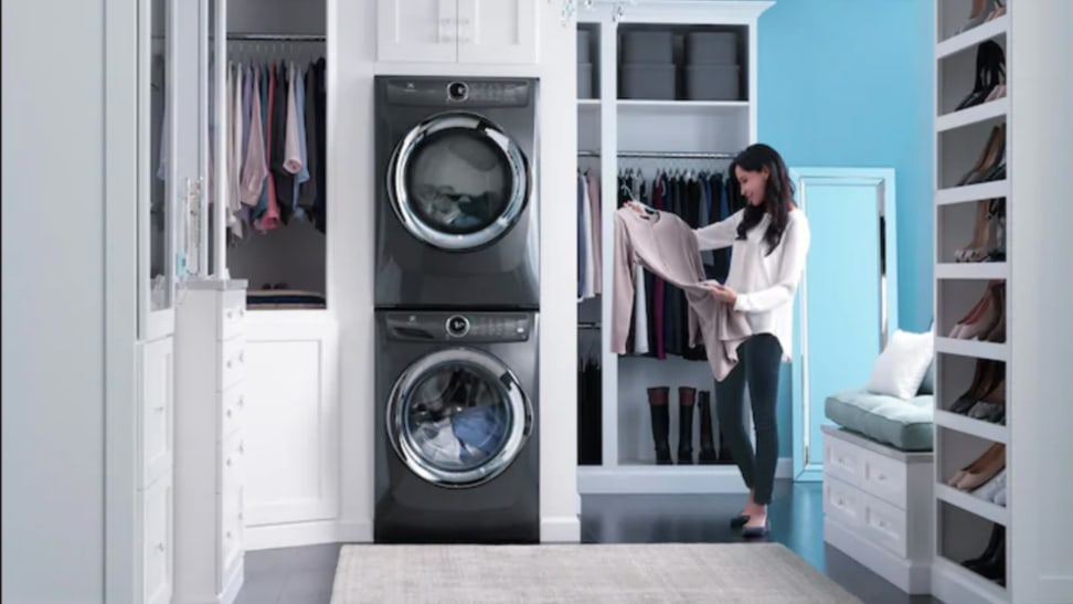 Appliances in the laundry room are no longer just white