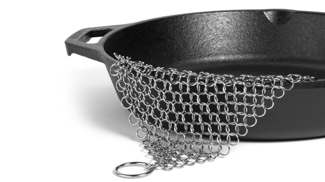 Amagabeli Cast Iron Cleaner Chainmail