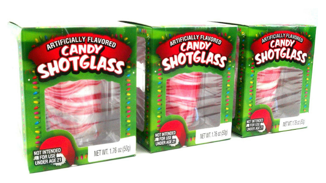 Peppermint Shot Glasses