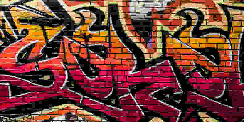 Sample crop graffiti