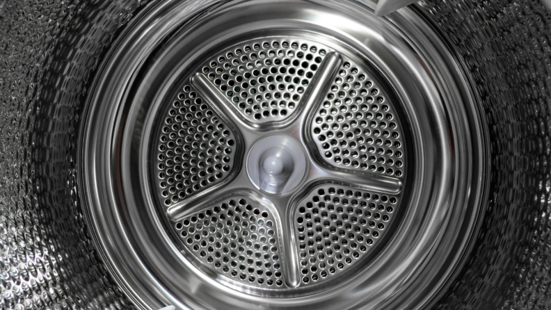 Inside drum of a dryer from Bosch.