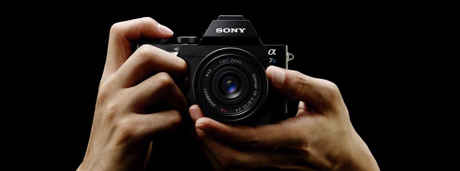 The A7S is the first of Sony's mirrorless full-frame cameras to record 4K, though it can only do it to an external third-party recorder.