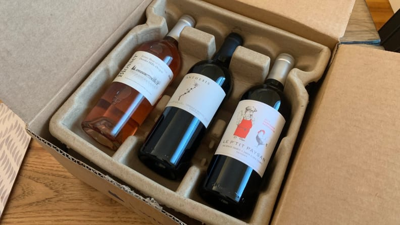 Blue Apron Wine Box