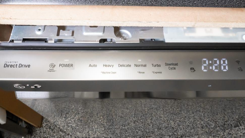 LG LDP6797ST Dishwasher Review - Reviewed Dishwashers
