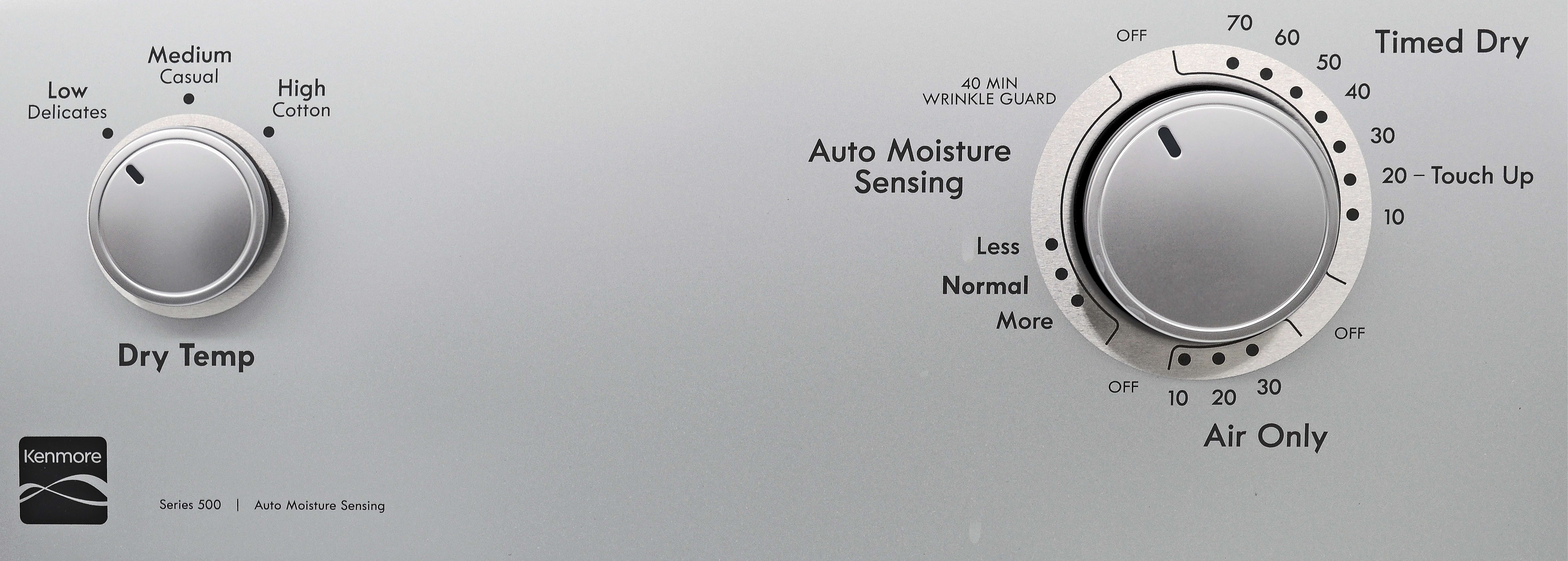 """The Kenmore 65132's crank timer runs the risk of being inaccurate, while """"cycle variety"""" has more to do with how you combine settings."""