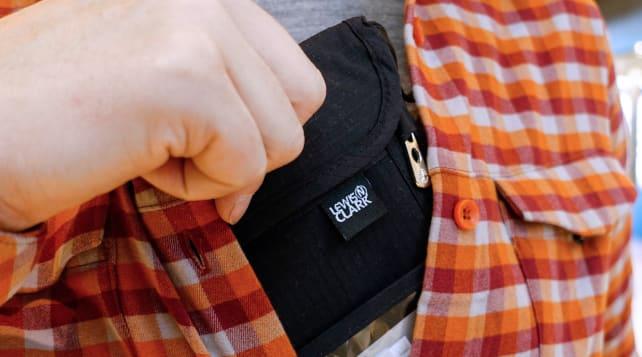 Lewis N. Clark RFID Blocking Neck Stash