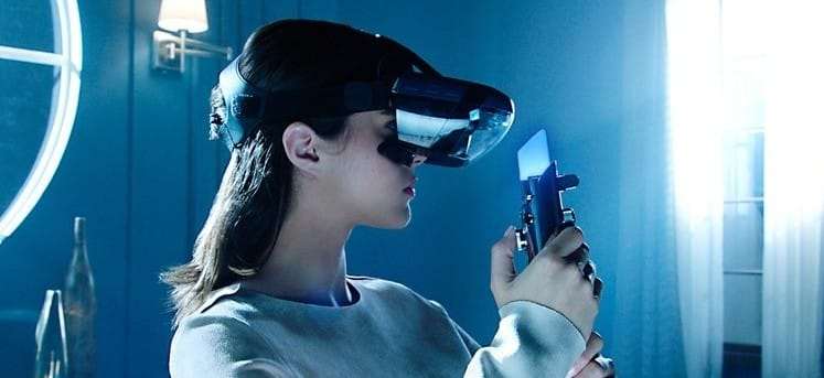 This new AR headset lets you wield a lightsaber.